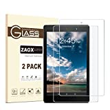 All-New Fire 7 Kids Edition/Fire 7 Screen Protector (2017 Release) - ZAOX Tempered Glass Screen Protector for Amazon Kindle Fire 7 Tablet Film [9H Hardness] [Bubble Free] [Crystal Clear] (2 pack)