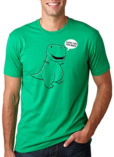I Love You This Much T-Rex T Shirt
