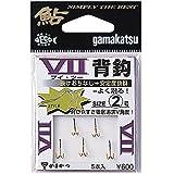 がまかつ(Gamakatsu) ダブルフック V2 背鈎 2号 5本 金 66426