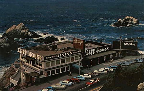 Cliff House and Seal Rocks San Francisco, California Original Vintage ()