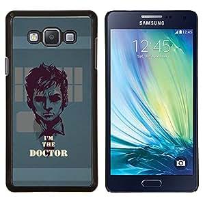 TECHCASE---Cubierta de la caja de protección para la piel dura ** Samsung Galaxy A7 ( A7000 ) ** --Soy el doctor