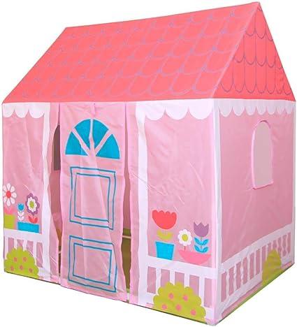 Hongzer Casa de Juguete para niños, Tienda de Juguetes Plegable para niños en Interiores y Exteriores Casa de Jardin Casa de Juegos portátil para niños y niñas Juegos ...