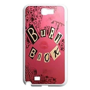 Burn Book Phone Case Back Cover For Samsung Galaxy Note 2 Case FNWT-U894491