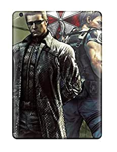 Tpu Shockproof/dirt-proof Chris Redfield Resident Evil 6 Covers Cases For Ipad(air)