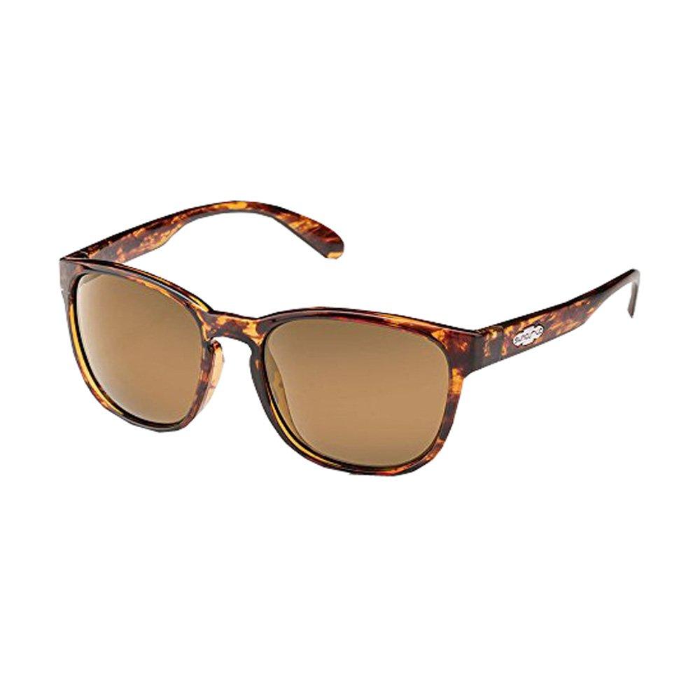 Suncloud Optics Loveseat Polarized Sunglasses (Tortoise,Sienna Mirror Polarized)