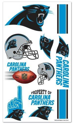 Carolina Panthers NFL Temporary Tattoos (10 - Carolina 10 Mall