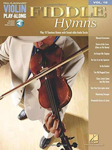 (Fiddle Hymns - Violin Play-Along Volume 18 (Bk/Audio Online))