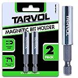 Magnetic Drill Bit Holder Extender (HEAVY DUTY - VALUE 2 PACK) - 1/4
