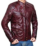 Chris Pratt Star Lord Jacket | Waxed brown, XXXL