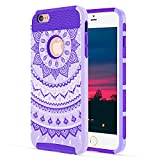 Best Merit Iphone 6 Case With Covers - iPhone 6 Case, iPhone 6S Case, AIKIN 2-Piece Review