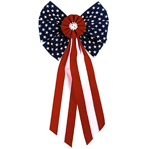 Fourth Of July Centerpieces (Stars and Stripes Party Bow)