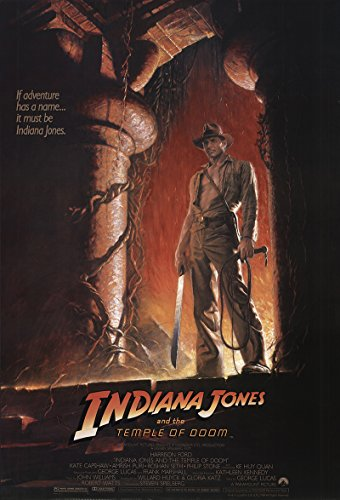 Indiana Jones and the Temple of Doom 1984 Authentic 27