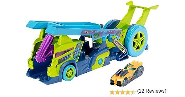 Mattel Hot Wheels DHY26 De plástico vehículo de Juguete - Vehículos de Juguete (Multicolor, Tráiler, De plástico, Split Speeders, X-Blade Rig, 4 año(s)): Amazon.es: Informática