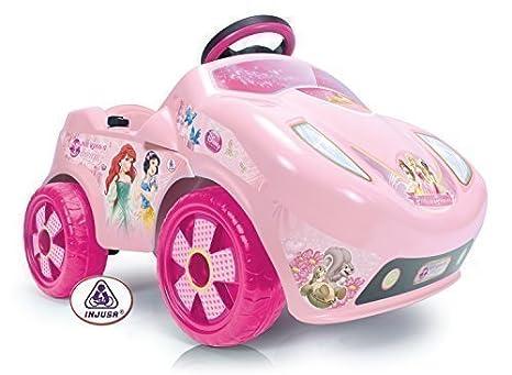 Princess Coche Eléctrico Princesa - Disney Fire 6V Injusa 7168: Amazon.es: Juguetes y juegos