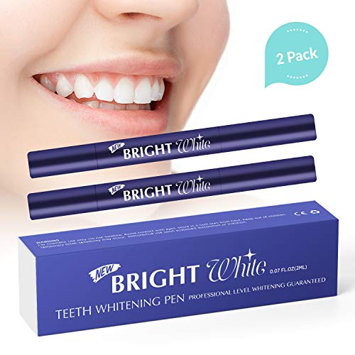Teeth Whitening Pen - 2 Pack - 35% Carbamide Peroxide Gel - Easy-to-Use - Affordable - Removes Years of Teeth Stains - Gentle Ingredients - Travel-Friendly