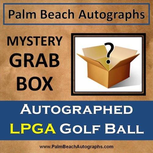 MYSTERY GRAB BOX - Autographed LPGA Tour Player Golf Ball by PalmBeachAutographs.com