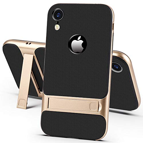 XR Kickstand Case Compatible with iPhone XR Cases Luxury IP Rx Phone Stand Hone R x Matte iPhonexr Cover I Protective Skin Texture 6.1 inch