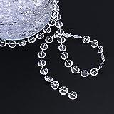 BlueSnail 99 ft Clear Crystal Acrylic Like Beads