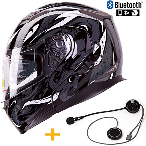 Modular Motorcycle Helmets With Bluetooth - 7