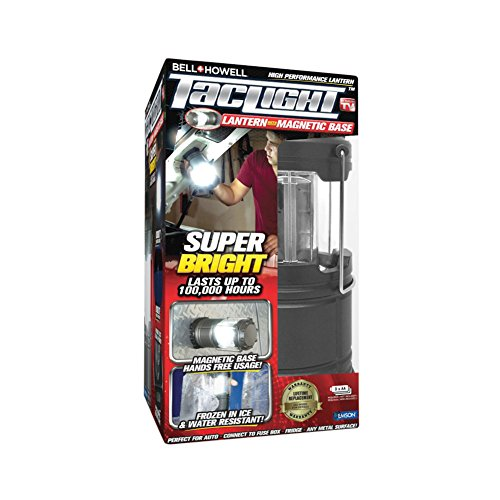 (Bell + Howell 1454 Taclight Lantern Portable LED Torch (Magnetic))