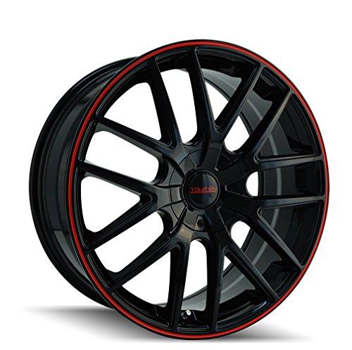 TOUREN TR60 (3260) BLACK/RED RING: 20x8.5 Wheel Size; 5-115/5-120 Lug Pattern, 74.1mm Bore, 20mm Offset. ()