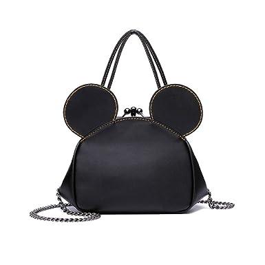 100% authentique cdd4e 449c5 AJLBT Sac De Dames, Mickey Mouse Clip, Mini, Mignon, Sac à ...