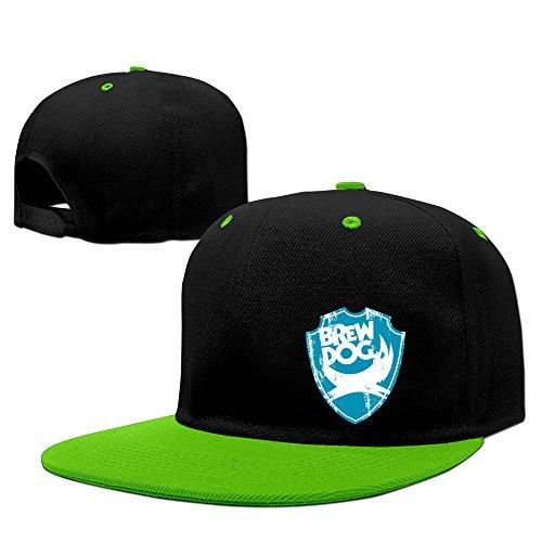 Fashion Brewdog Beer Hip Hop Snapback Baseball Cap Kellygreen