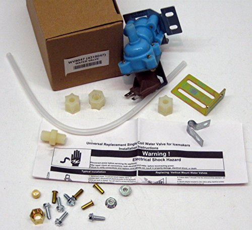 (WV8047 Icemaker Refrigerator Water Solenoid Valve for 4318047 Whirlpool Kenmore )