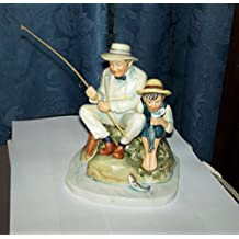 """Norman Rockwell's """"Old Mill Pond"""" Figurine"""
