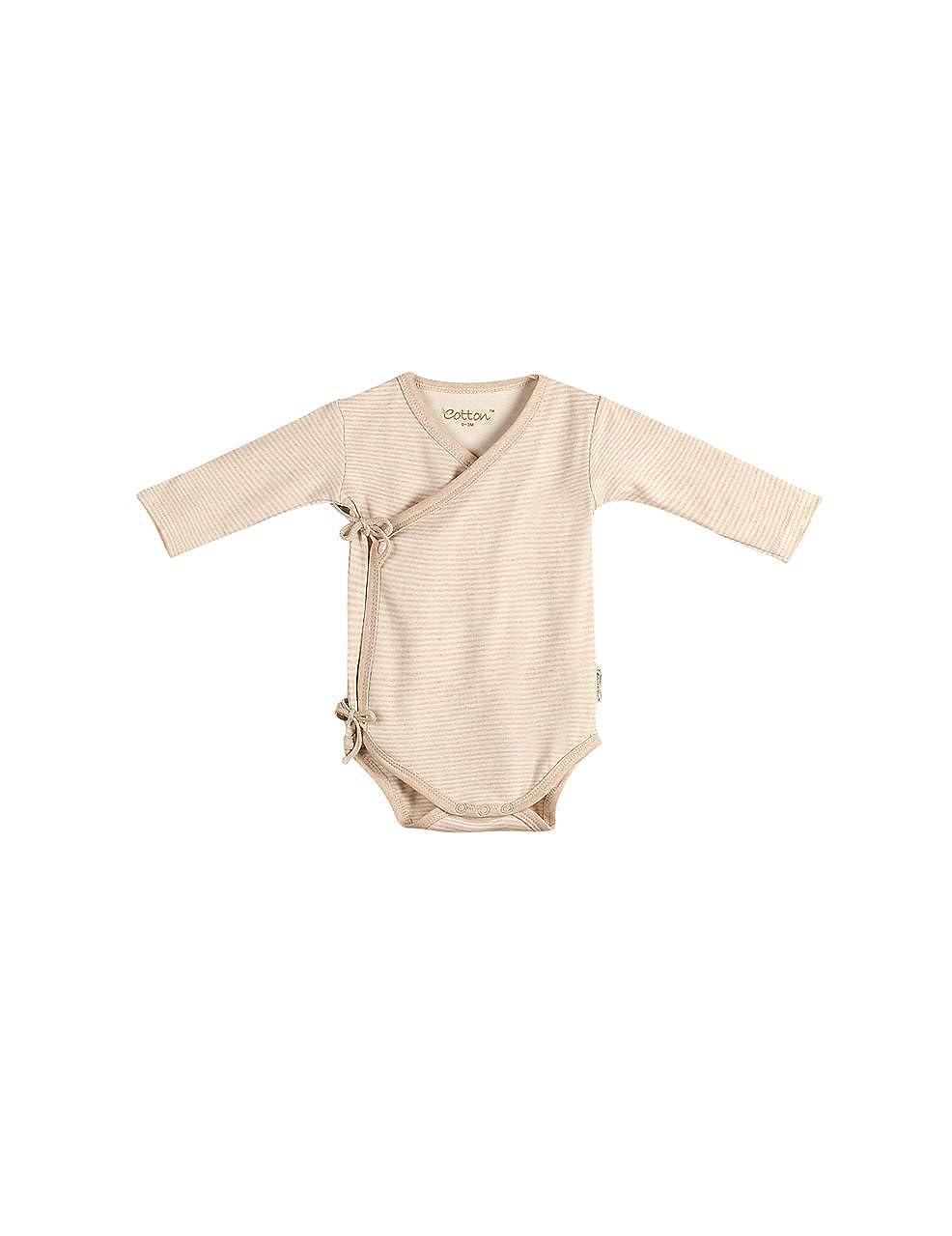 60b0919fe Amazon.com  Eotton Certified Organic Cotton Baby Pullover Bodysuit ...