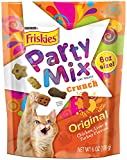 Friskies Party Mix Cat Treats, Original Crunch, 6-Ounce Pouch, Pack of 7