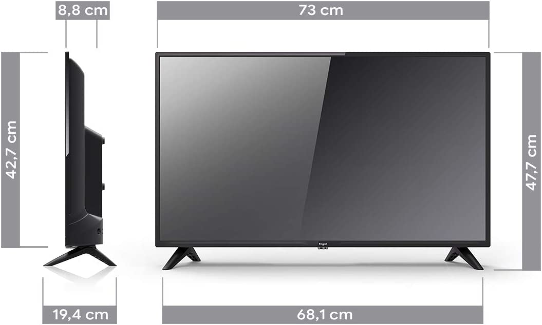 TV Televisión Televisor Engel LE3250 Ever-LED de 32: Engel-Axil: Amazon.es: Electrónica