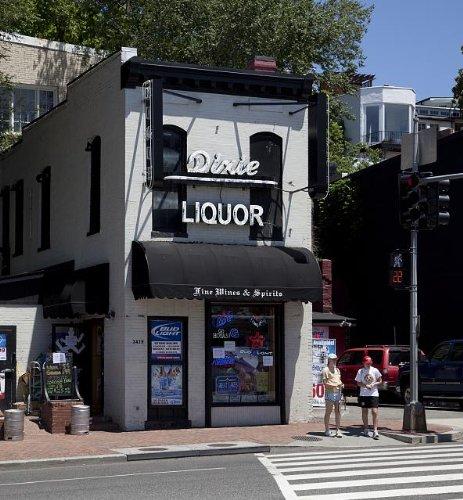 Photo: Dixie Liquor,M Street,Georgetown Neighborhood,Washington,DC,Carol - Georgetown M Street