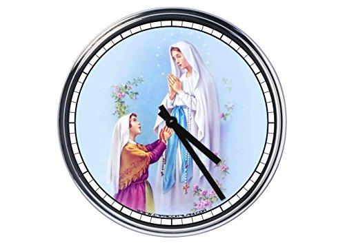 Reloj de pared virgen del lourdes