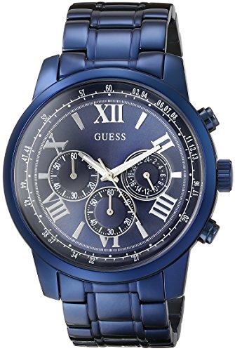 GUESS Men's U0379G5 Iconic Blue Chronograph Watch