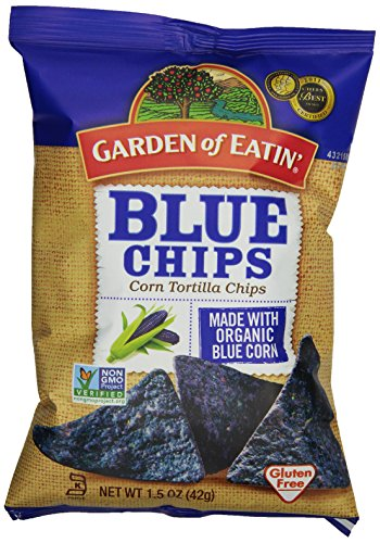 Garden of Eatin' Blue Corn Tortilla Chips, 1.5 Ounce Bags (Pack of 24)
