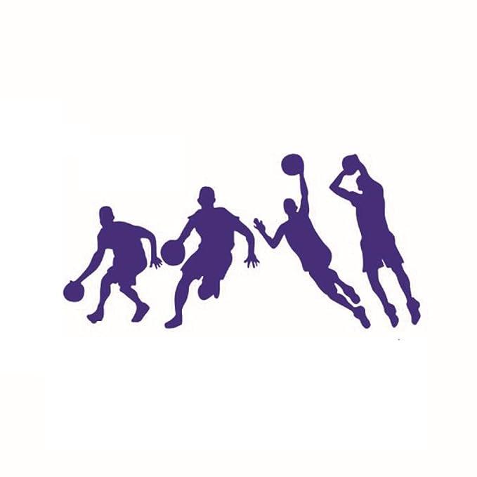 Etiquetas Adhesivos de Pared,Pegatinas del Juego Baloncesto ...