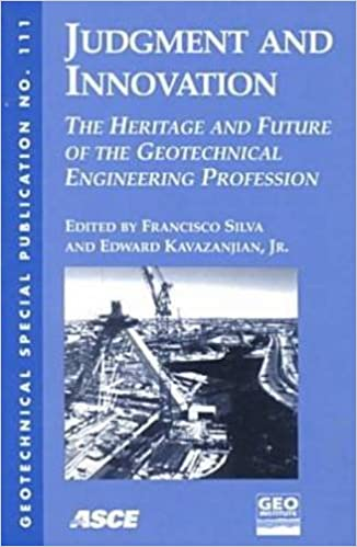 Judgment and Innovation (Geotechnical Special Publication)