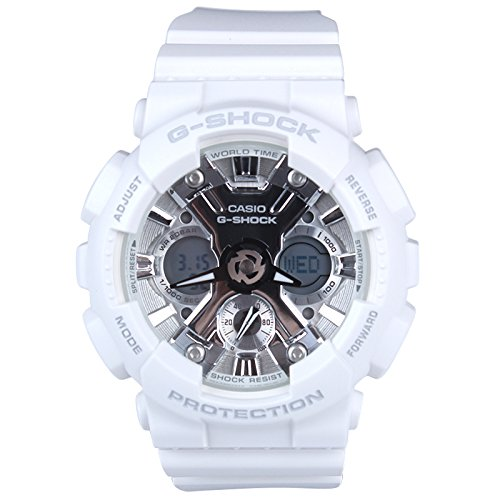 G-Shock Women's GMA-S120MF-7A1CR White Watch - White G Shock Watches For Women