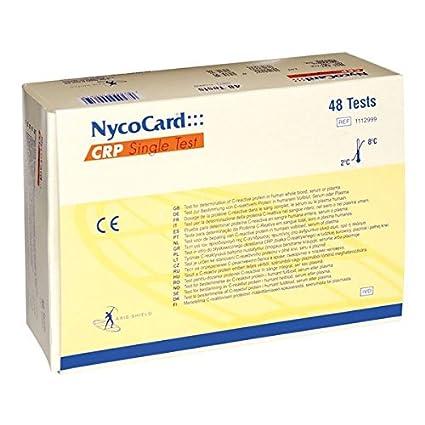 nycocard 88 C de proteína reaktive prueba (48 unidades ...