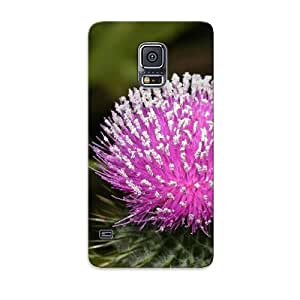 Exultantor Durable Wildflower Back Case/ Cover For Galaxy S5 For Christmas