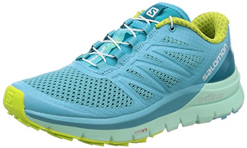 Pro Femme Acid 000 Blue Chaussures Salomon Curacao Beach Sense Lime Bleu W de Glass Trail Max 0x5qS