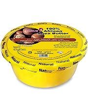 زبدة الشيا الأفريقية الصفراء الذهبية. غير مكررة، خام، ناعمة، طبيعية، عضوية، نقية، درجة أولى. 250 مل