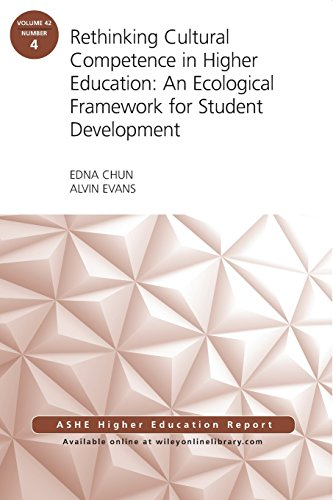 Rethinking Cultural Competence in Higher Education: An Ecological Framework for Student Development: ASHE Higher Education Report, Volume 42, Number 4 (J-B ASHE Higher Education Report Series (AEHE))