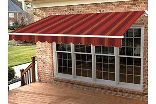 Taylor Made Retractable Awning 17 W X 10 L Right Motor