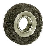 Trulock™ Wide-Face Crimped Wire Wheels - tl-6 .006 ss 2in6in dia wid