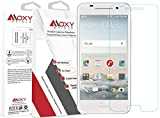 HTC One A9 Moxy® Shield TEMPERED Glass Screen Protector [Lifetime Warranty] Shatterproof 9H + Scratch Resistant + TruTouch Accuracy + Easy Alignment + Grade A Japanese Glass & Clarity