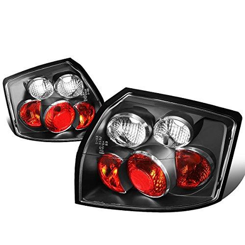 For 2002-2005 Audi A4 Quattro/S4 Sedan Black Housing Altezza Style Tail Light Brake/Parking Lamps -