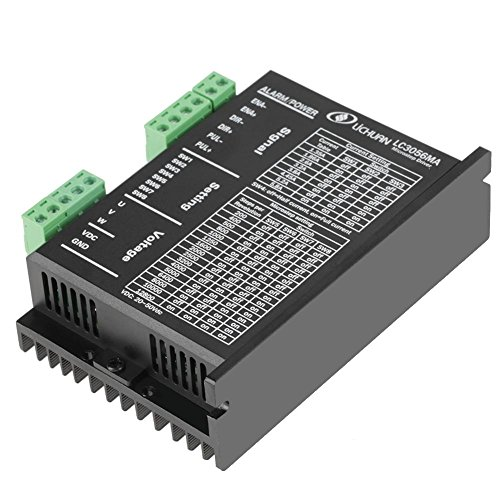 WALFRONT LC3056MA DC20-50V 5.8A Stepper Driver 3-Phase Hybrid Motor Controller for NEMA23 by Wal front