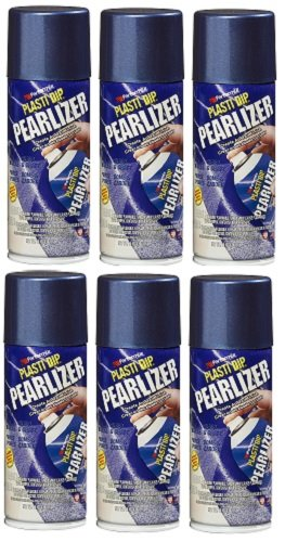 Performix 11291-6-6PK Sapphire Blue Pearlizer Spray - 11 oz, (Pack of 6)
